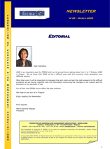 FERMA Newsletter 33 (March 2009)