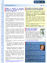 FERMA Newsletter 41 (May 2011)