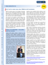 FERMA Newsletter 42 (July 2011)