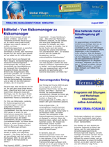 FERMA Newsletter – Forum 2009 – in GERMAN (August 2009)
