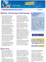 FERMA Newsletter – Forum 2009 – in ENGLISH (August 2009)