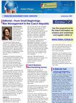 FERMA Newsletter - Forum 2009 (September 2009)