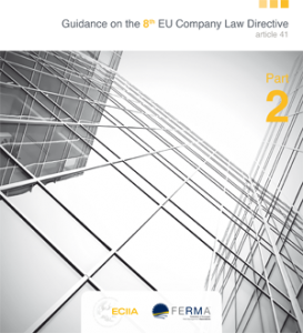 ECIIA - FERMA - Guidance on the 8th EU Company Law Directive (article 41) - Part 2