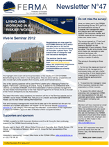FERMA Newsletter 47 (May 2012)