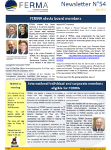 FERMA Newsletter 54 (July 2013)