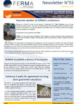FERMA Newsletter 55 (September 2013)