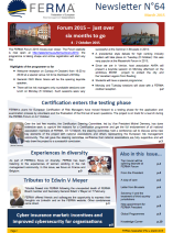 FERMA Newsletter 64 (March 2015)