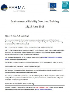 ELD Training Details