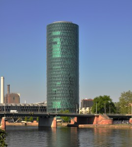 "EIOPA offices in the ""Westhafen Tower"" - Frankfurt"