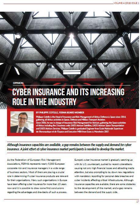 Capture ECJ Cyber Insurance Philippe Cotelle