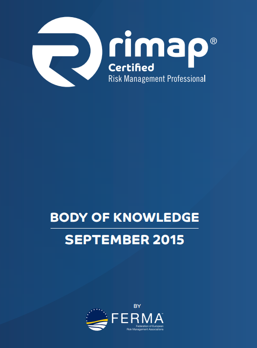 Cover FERMA rimap Body of Knowledge