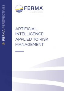 "Cover of the report ""Artificial Intelligence applied to Risk Management"""