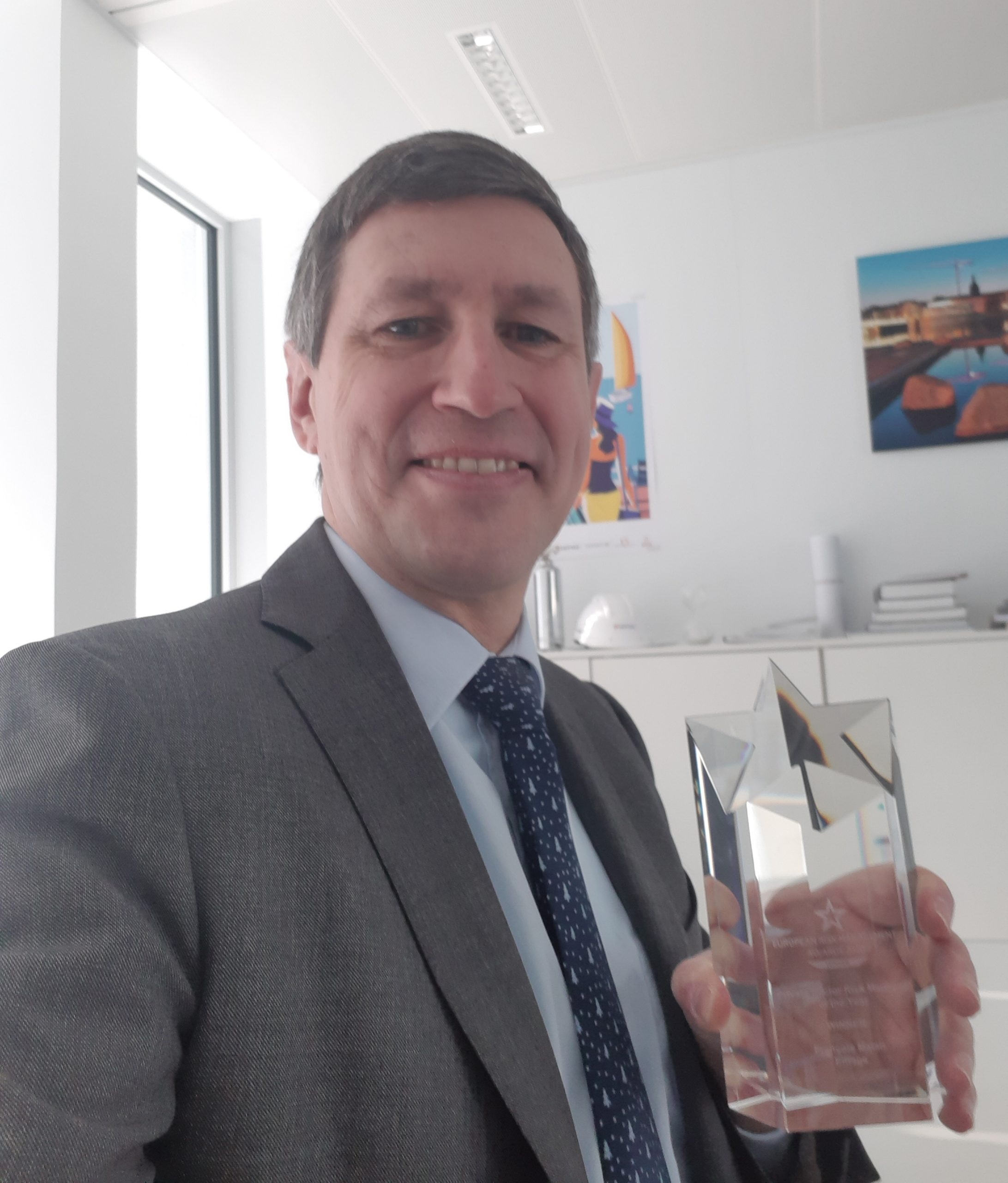 Francois Malan Risk Manager of the year 2020