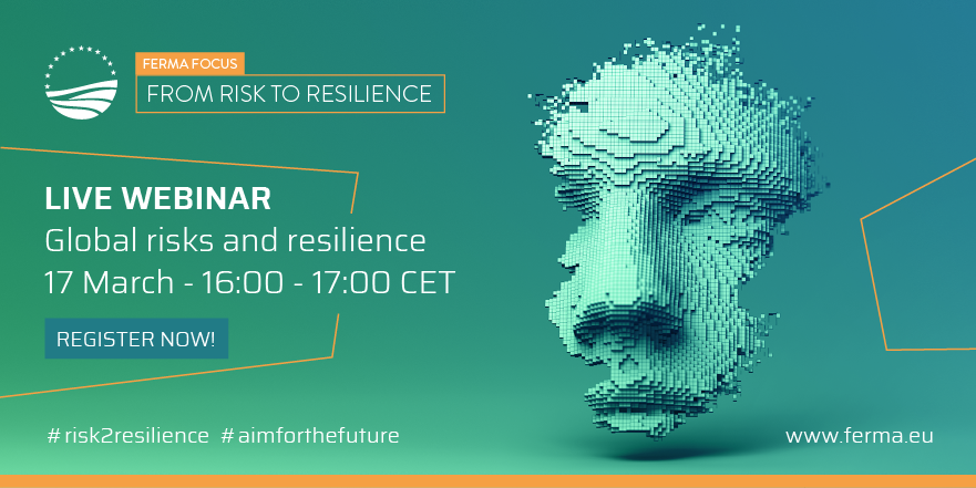 global risks and resilience webinar ferma