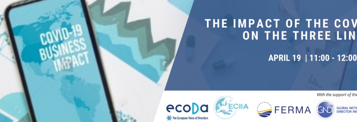 Join our joint webinar with ecoDa and ECIIA THE IMPACT OF THE COVID ON THE THREE LINES