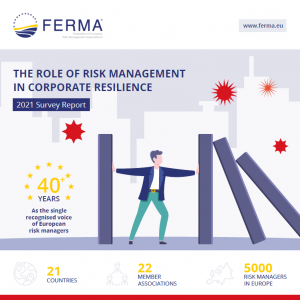 The role of risk management in corporate resilience
